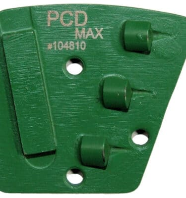 Segment diamentowy zielony