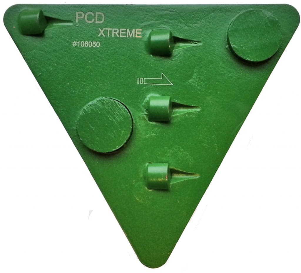 Segment TRISEG zielony