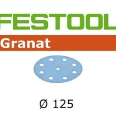 FESTOOL D125/8 rzep GRANAT