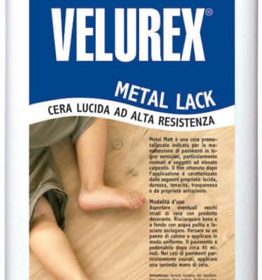 Wosk do podłóg lakierowanych Lios Velurex Metal Lack- połysk