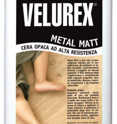 Wosk do podłóg lakierowanych Lios Velurex Metal Matt