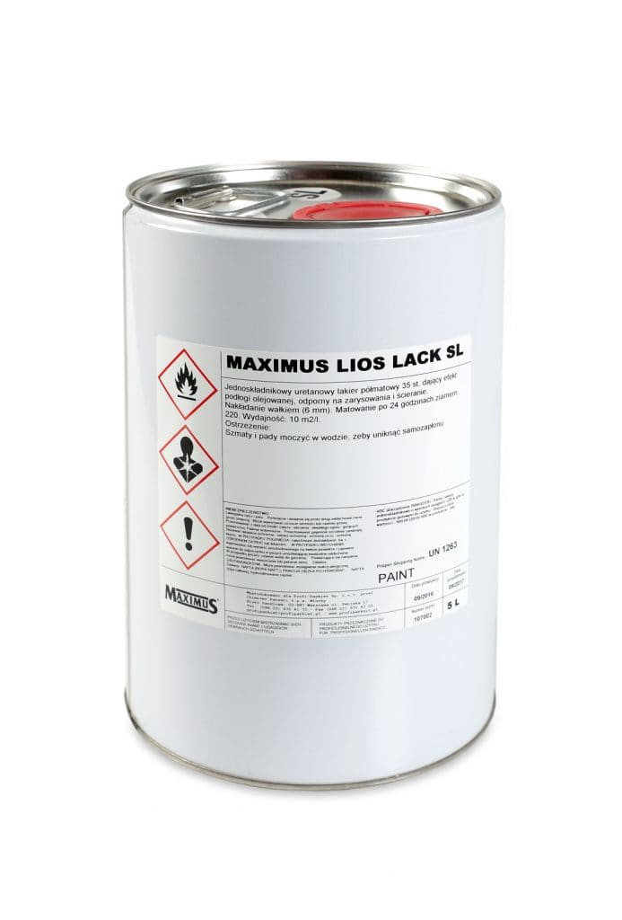 Lakier poliuretanowy Maximus LIOS LACK