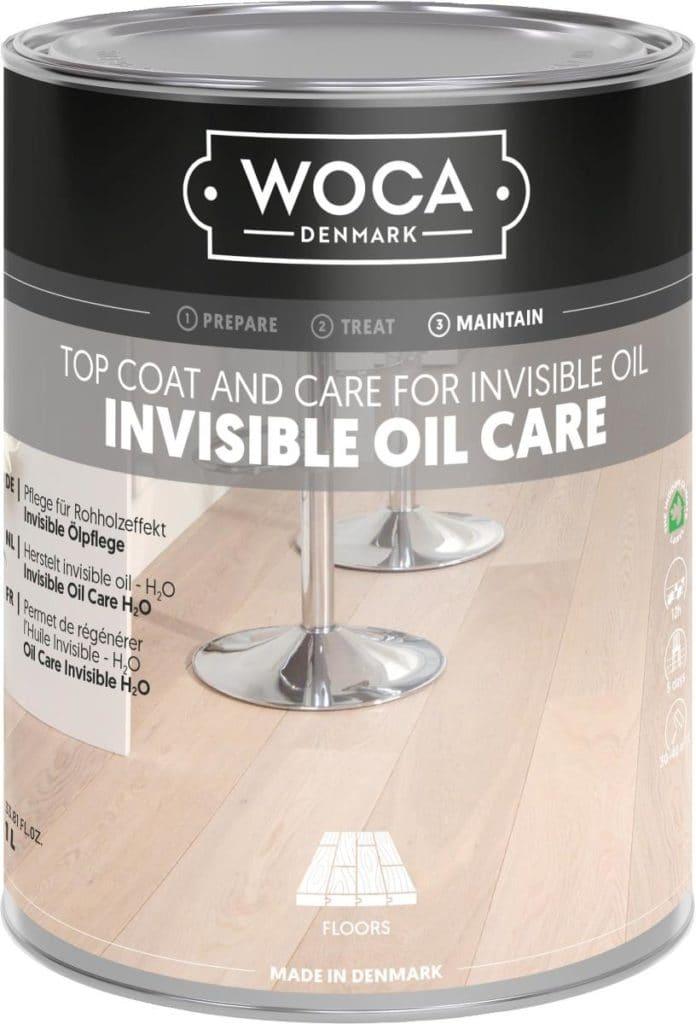 Środek pielęgnacyjny do drewna olejowanego WOCA Invisible (krok 3)