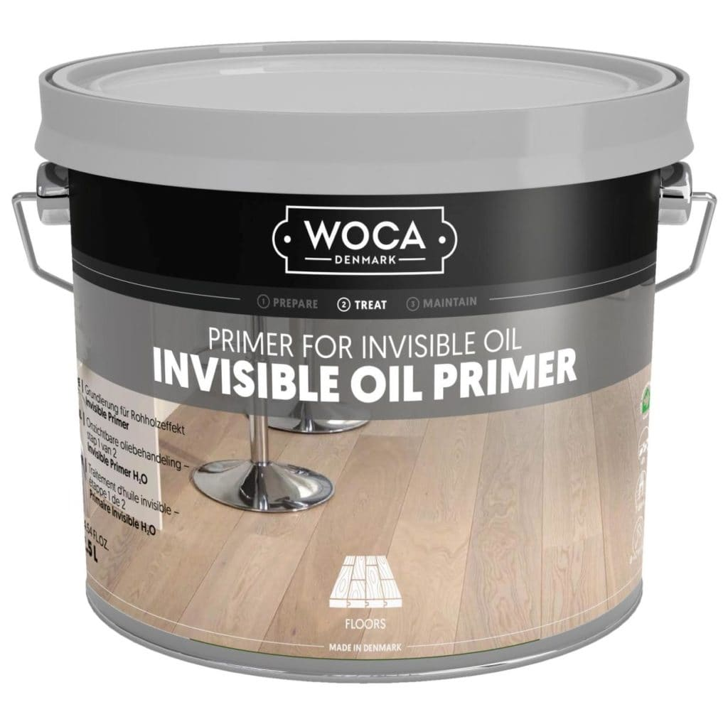 Środek Gruntujący do oleju WOCA Invisible Primer (krok 1)